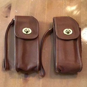 2 Vintage Coach Legacy Cell Wristlets *Great Cond.
